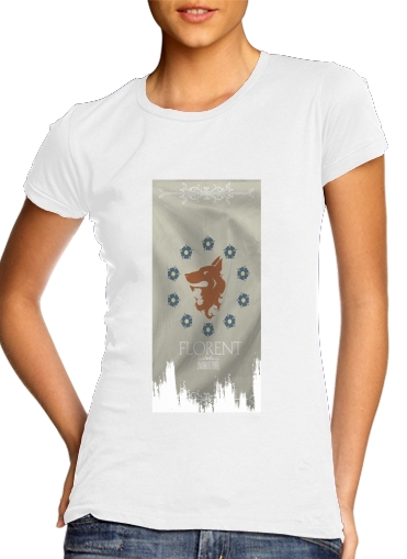 Flag House Florent für Damen T-Shirt