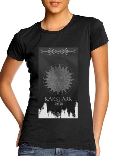 Flag House Karstark für Damen T-Shirt