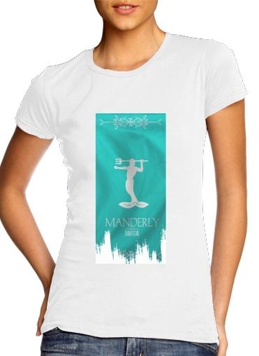 Flag House Manderly für Damen T-Shirt