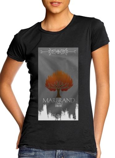 Flag House Marbrand für Damen T-Shirt