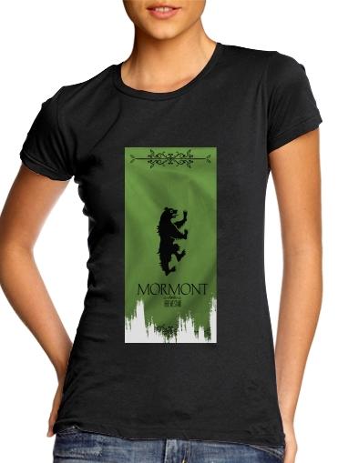 Flag House Mormont für Damen T-Shirt