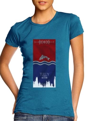 Flag House Tully für Damen T-Shirt