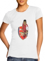 Women T-shirt short sleeve round neck  Football Stars: Alexis Sanchez - Arsenal