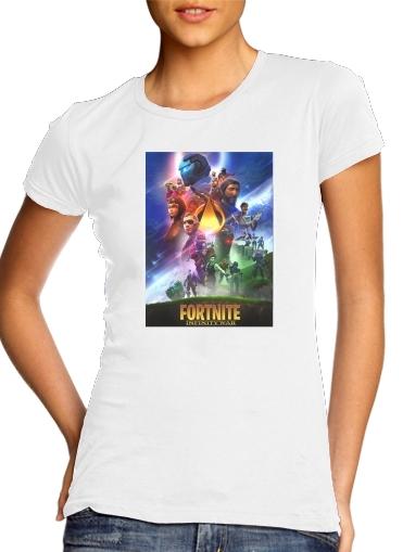 Fortnite Skin Omega Infinity War für Damen T-Shirt