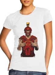 Women T-shirt short sleeve round neck  German Gladiator Podolski