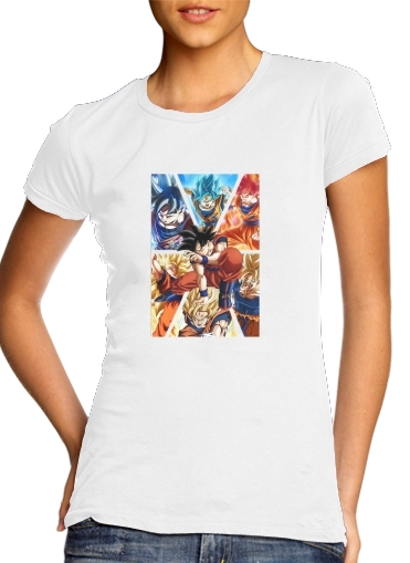 Goku Ultra Instinct für Damen T-Shirt