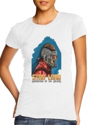 Women T-shirt short sleeve round neck  Guardians of the Galaxy: Star-Lord
