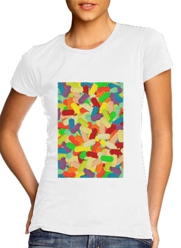 Gummy London Phone  für Damen T-Shirt