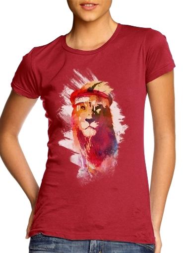 Gym Lion für Damen T-Shirt