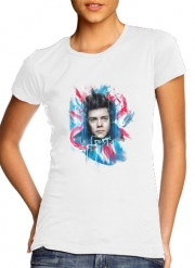 Women T-shirt short sleeve round neck  Harry Painting