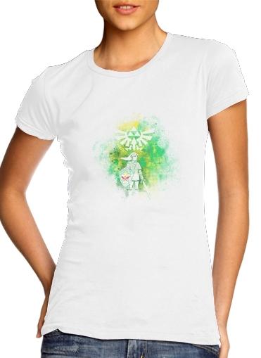 Hyrule Art für Damen T-Shirt