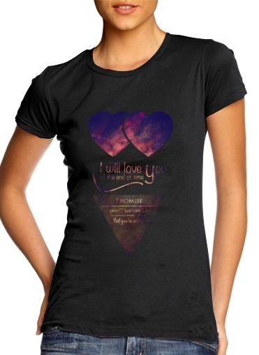 I will love you für Damen T-Shirt