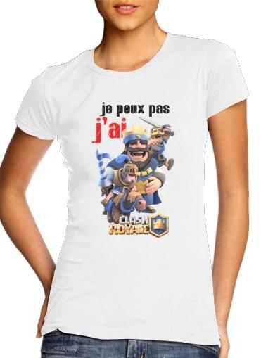 Inspired By Clash Royale für Damen T-Shirt