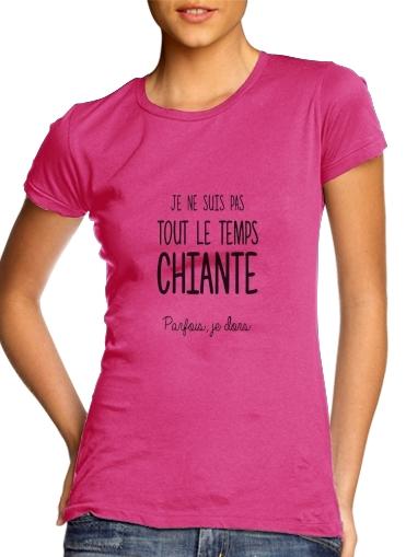 Je ne suis tout le temps chiante PARFOIS Je dors für Damen T-Shirt