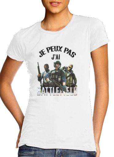 T-Shirts Je peux pas jai battlefield