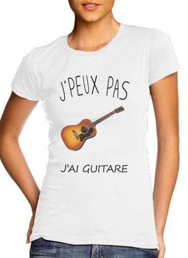 T-Shirts Je peux pas jai guitare