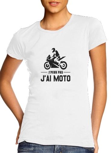Je peux pas jai moto für Damen T-Shirt