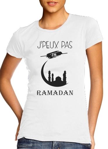 Je peux pas jai ramadan für Damen T-Shirt