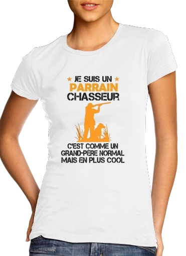 T-Shirts Je suis un parrain chasseur