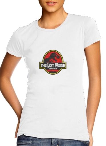 Jurassic park Lost World TREX Dinosaure für Damen T-Shirt