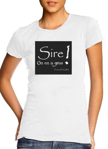T-Shirts Kaamelott Perceval Sire on en a gros
