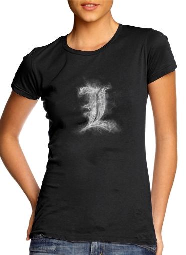 L Smoke Death Note für Damen T-Shirt