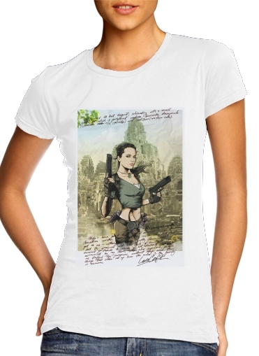 Women T-shirt short sleeve round neck  Lara Vikander