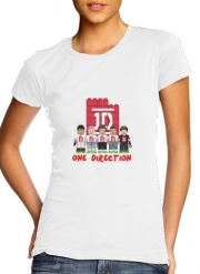 Women T-shirt short sleeve round neck  Lego: One Direction 1D