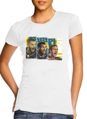 Women T-shirt short sleeve round neck  Libertadores Trio Bostero