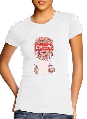 Lil Pump ESKETIT Peep Uzi Yachty XAN Supreme Xanax für Damen T-Shirt