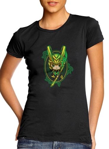 Loki Portrait für Damen T-Shirt