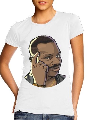 Meme Collection Eddie Think für Damen T-Shirt