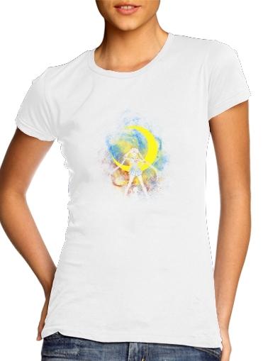 Moon Art für Damen T-Shirt
