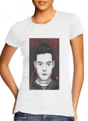 Women T-shirt short sleeve round neck  Mr.Robot