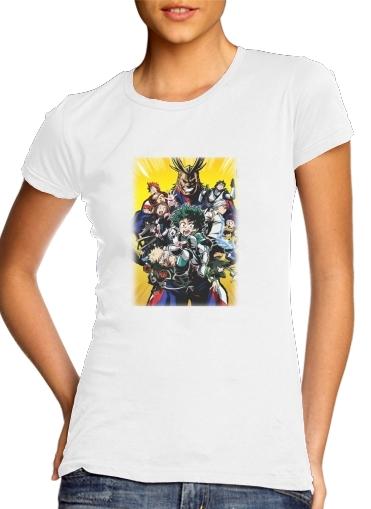 my hero academia Izuku Midoriya für Damen T-Shirt