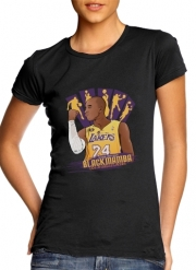 Women T-shirt short sleeve round neck  NBA Legends: Kobe Bryant