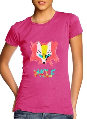 Wolf für Damen T-Shirt