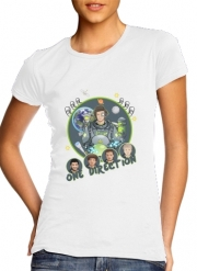 Women T-shirt short sleeve round neck  Outer Space Collection: One Direction 1D - Harry Styles