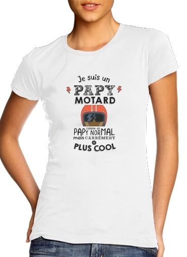 Papy motard für Damen T-Shirt