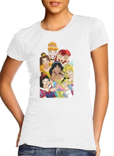 Prinzessin Grimasse lächelnd für Damen T-Shirt