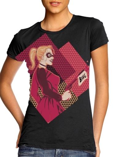 Quinn Bang für Damen T-Shirt