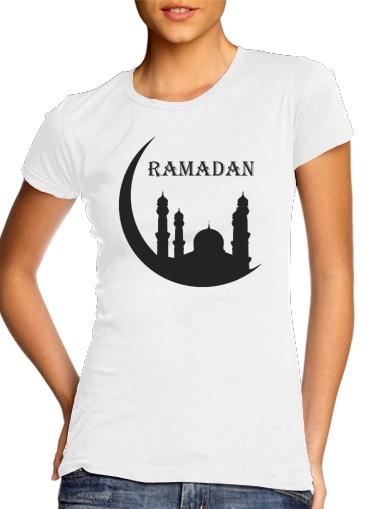 Ramadan Kareem Mubarak für Damen T-Shirt