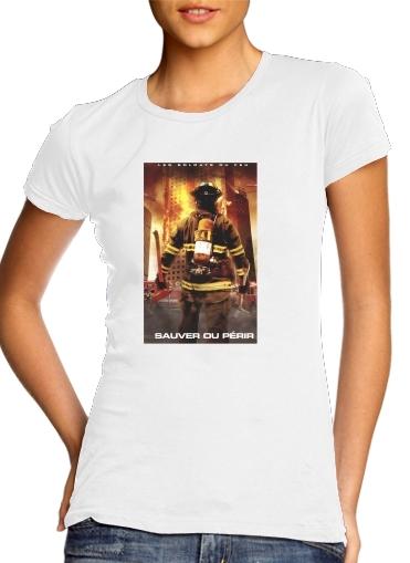 Rette oder vermeide Feuerwehren für Damen T-Shirt