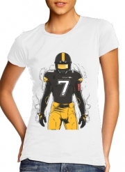 Women T-shirt short sleeve round neck  SB L Pittsburgh