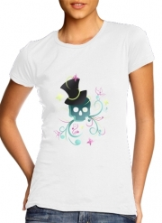 Women T-shirt short sleeve round neck  Skull