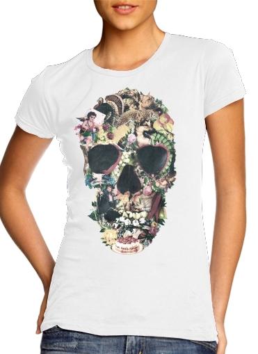 Skull Vintage für Damen T-Shirt