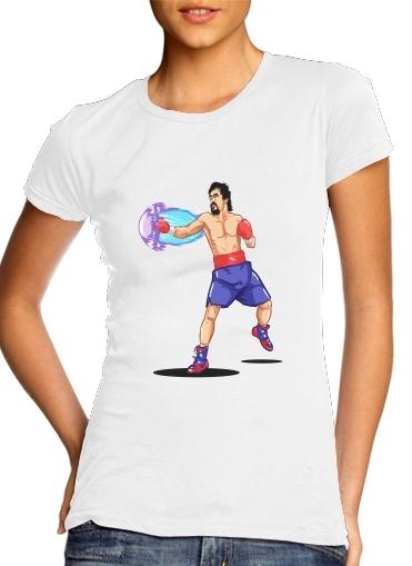 Street Pacman Fighter Pacquiao für Damen T-Shirt