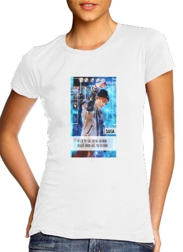 Suga BTS Kpop für Damen T-Shirt