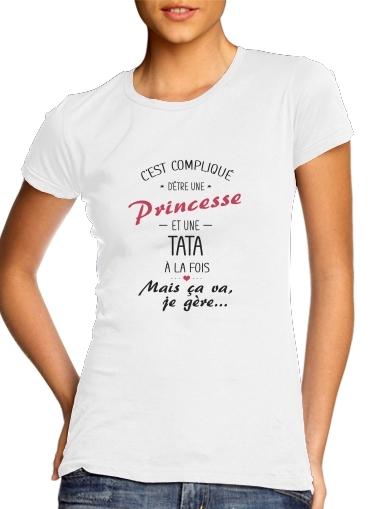 Tata et Princesse für Damen T-Shirt