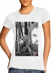 Women T-shirt short sleeve round neck  The Bear and the Hunter Revenant